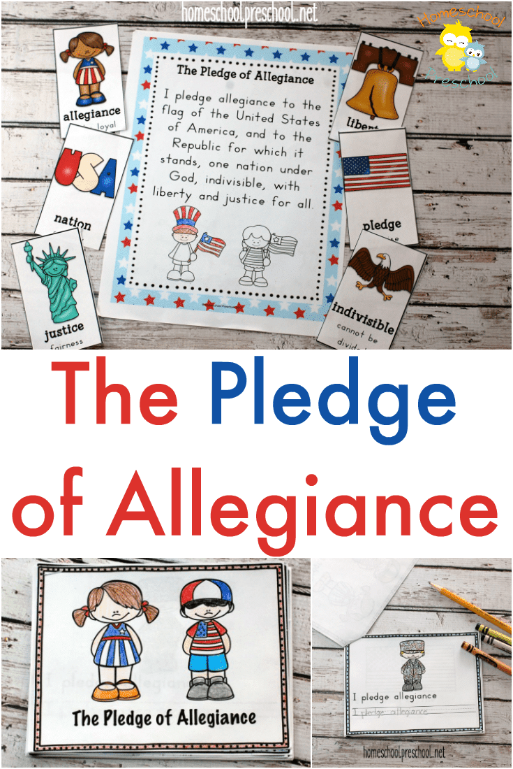 Free Pledge of Allegiance Printables