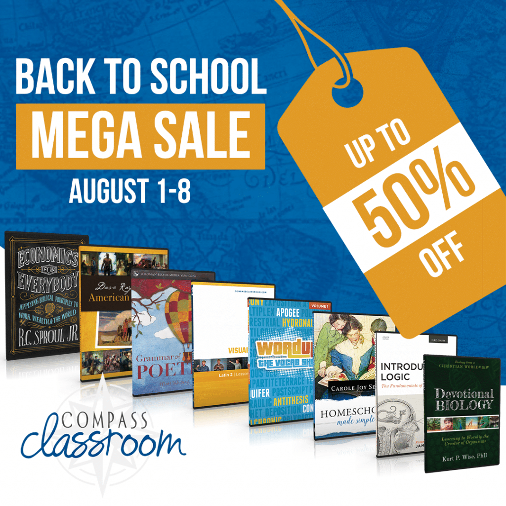 Compass Classroom Back to School Sale - Up to 50% Off!