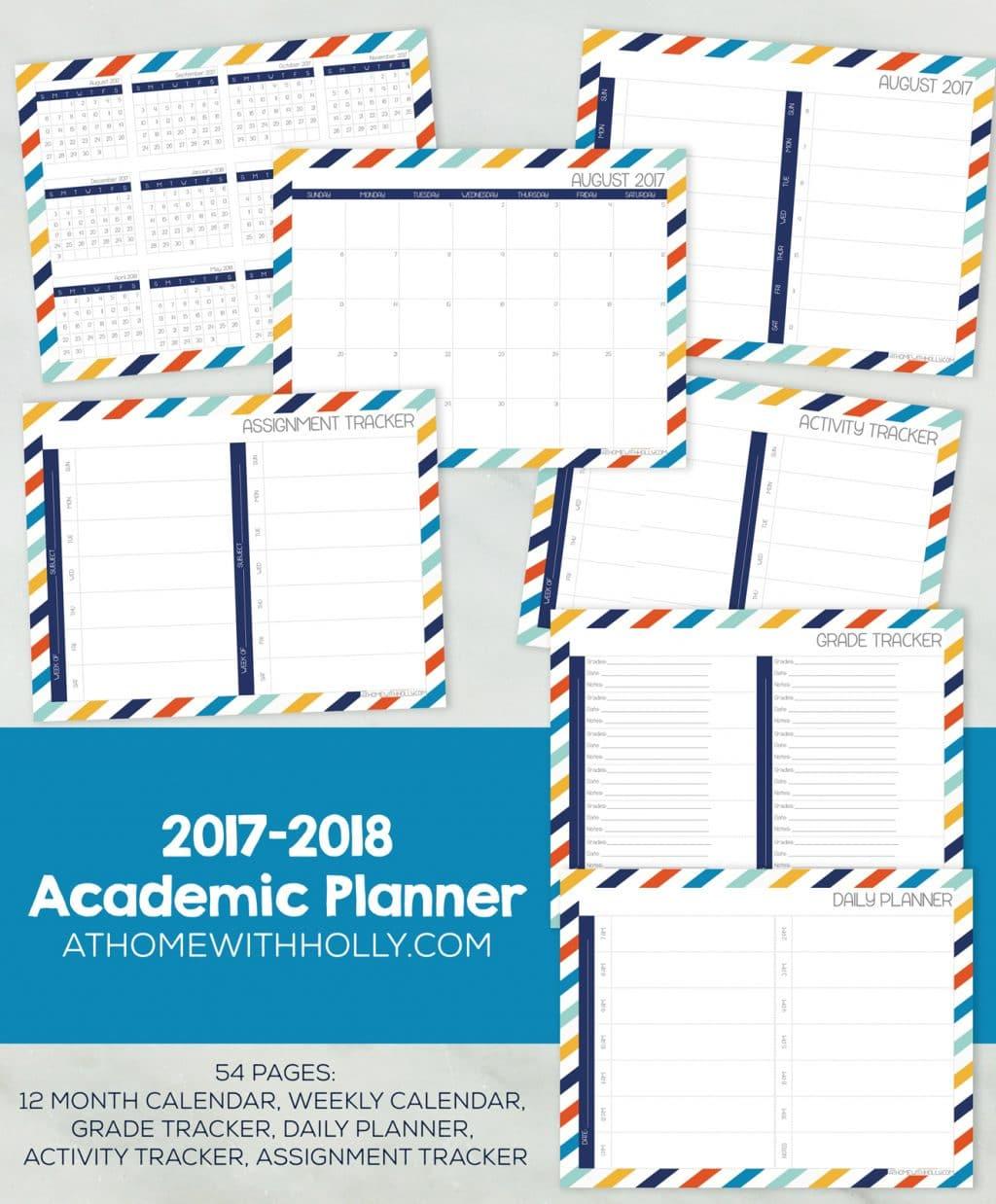 Free Ultimate Homeschool Student Planner