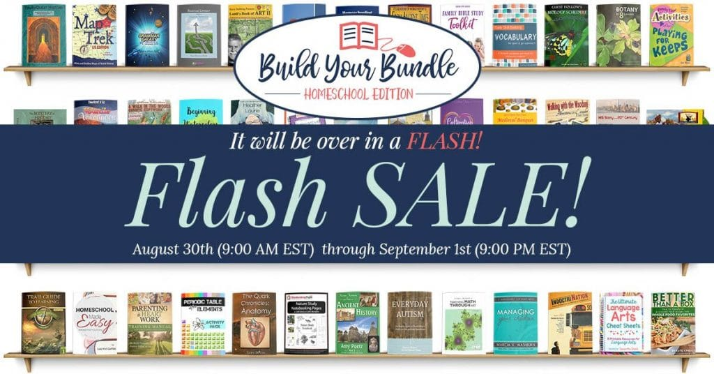 Build Your Bundle Homeschool Curriculum Flash Sale: Up to 96% Off! - ENDS SOON!