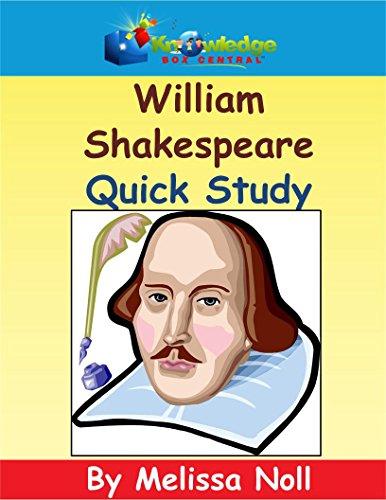 William Shakespeare Quick Study