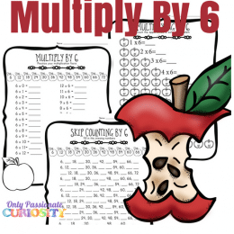 Love Fall resources? Check out these Apple Multiplication Worksheets! #fhdhomeschoolers #freehomeschooldeals #homeschoolmath #hsfreebies #hsdays