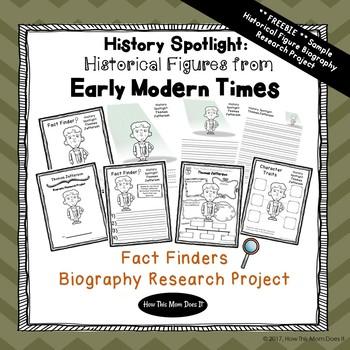 Free Thomas Jefferson Biography Report Printables