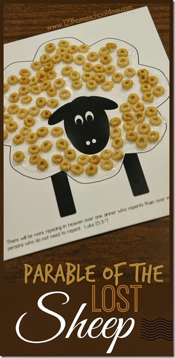 photo about Sheep Craft Printable referred to as Absolutely free Parable of the Missing Sheep Printable Craft