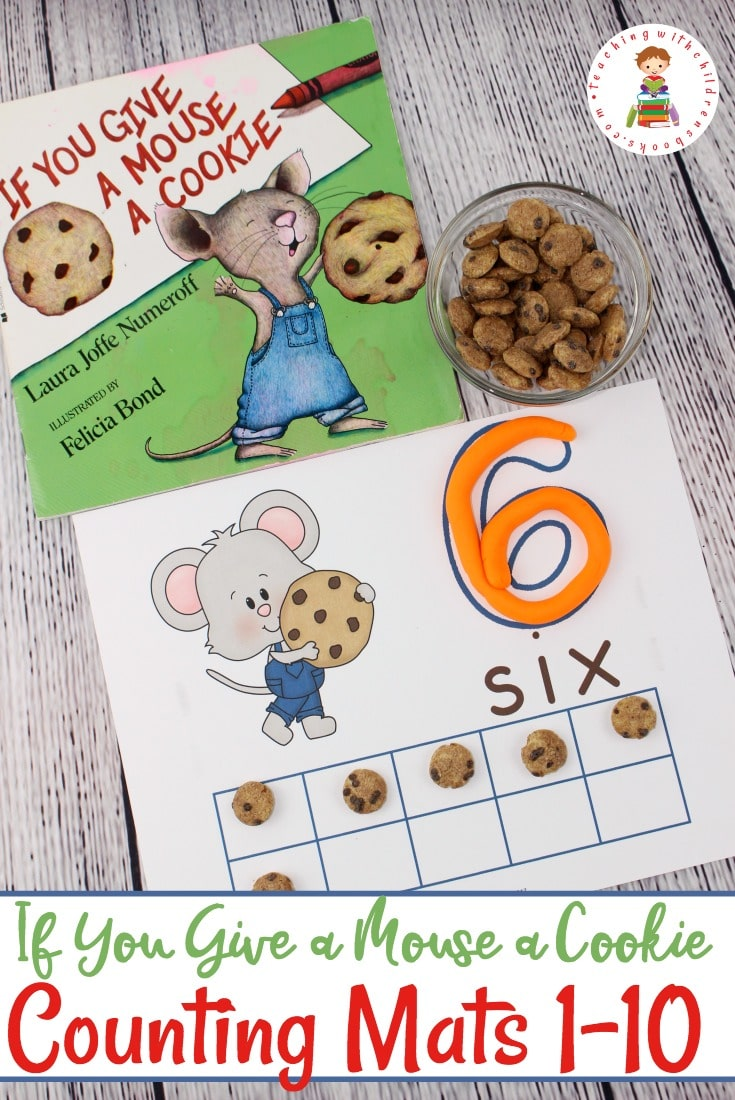 Free If You Give a Mouse a Cookie Counting Mats