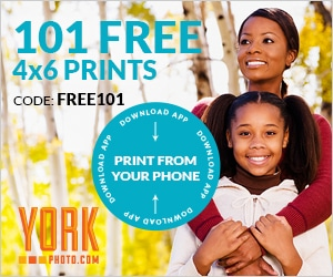 101 FREE 4 x 6 Photo Prints - Just Pay Shipping!