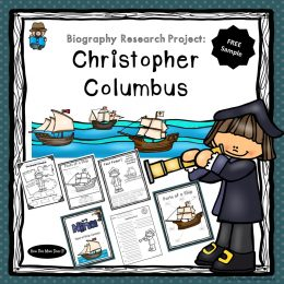 Free Christopher Columbus Research Pages