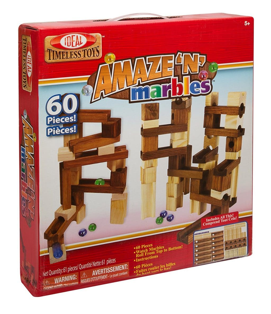 Wooden Marble Run Set Only $21.97! (31% Off!)