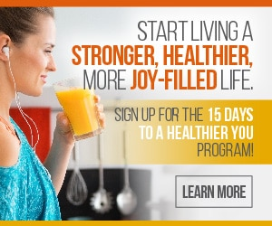 15 Hours to a Healthier You eCourse Only $5 - Limited Time!