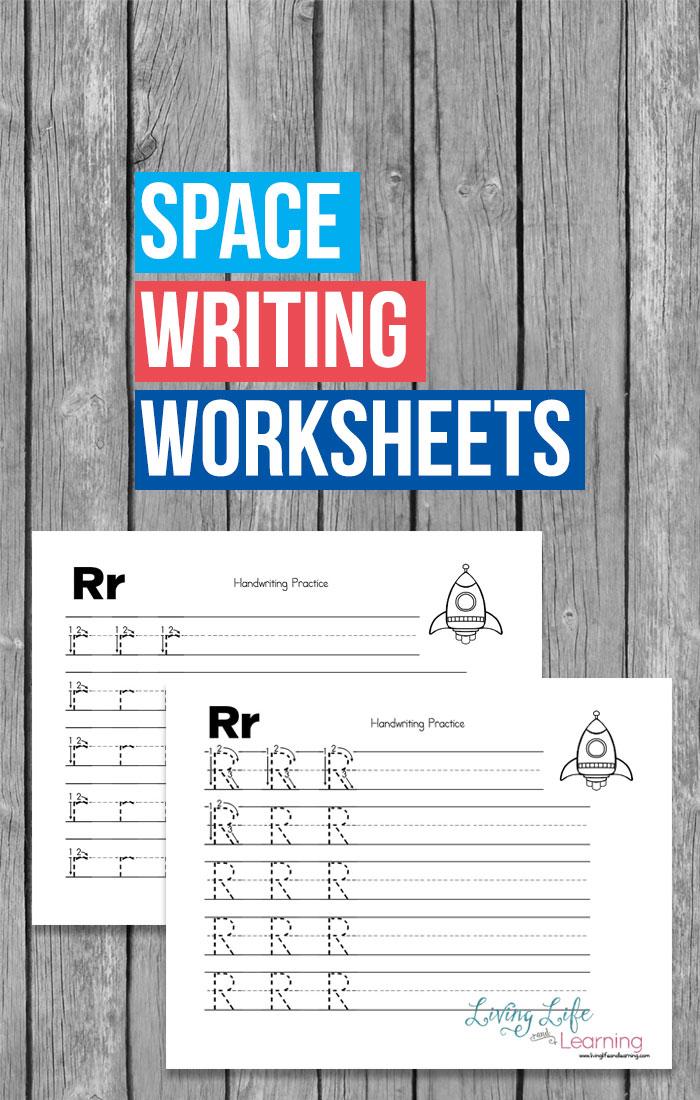 Free Space Handwriting Worksheets