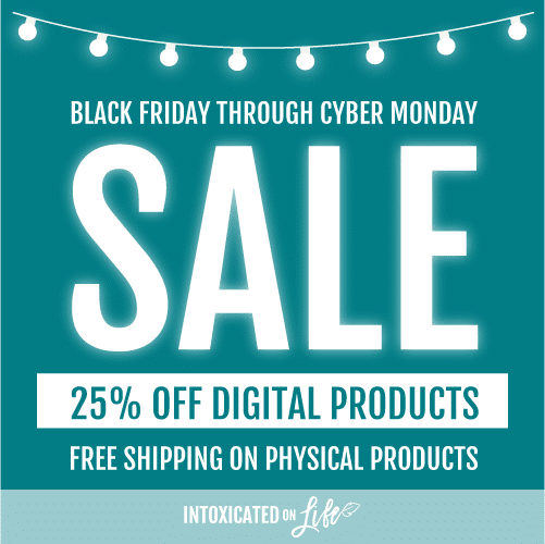 25% Off ALL Intoxicated on Life Digital Products - Homeschool Curriculum, Bible Studies, & eBooks