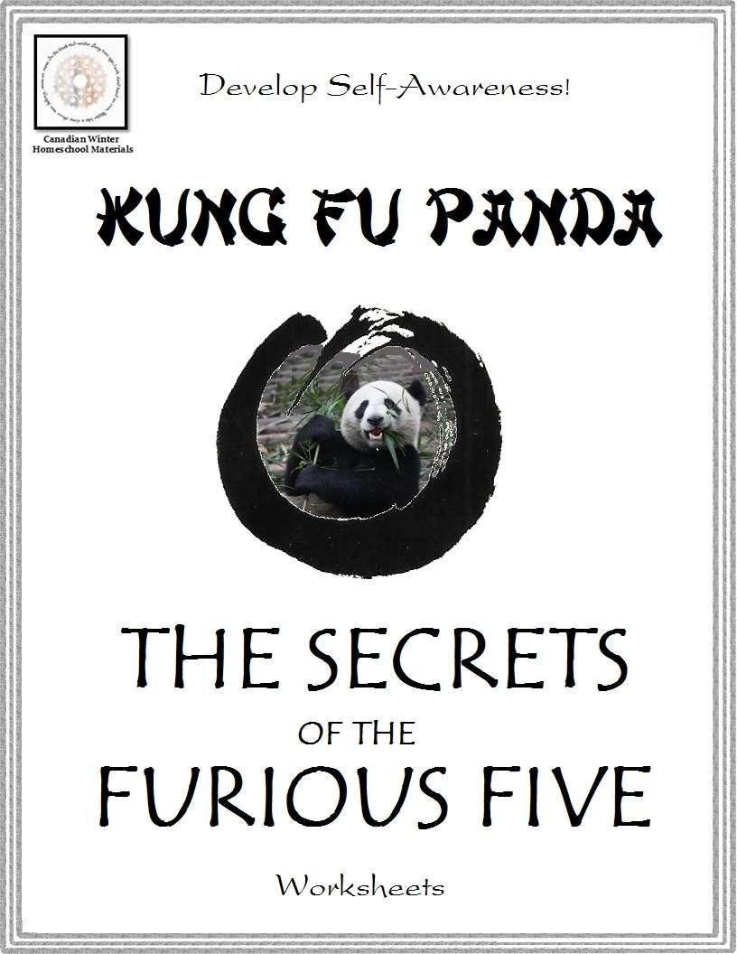 Free Kung Fu Panda Self Awareness Worksheets