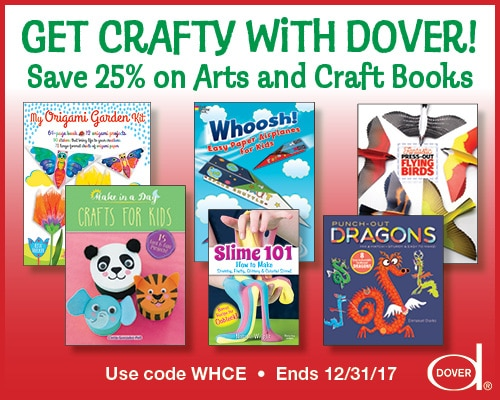 25% Off Dover Arts and Craft Books!