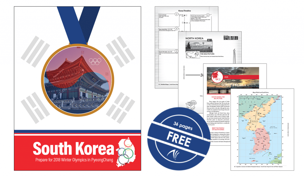Free South Korea Unit Study - Perfect Before the Winter Games!