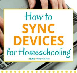 Free Synchronized Homeschool Checklist