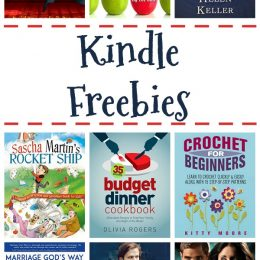 19 Kindle Freebies: Budget Dinner Cookbook, Kid Legends, & More!
