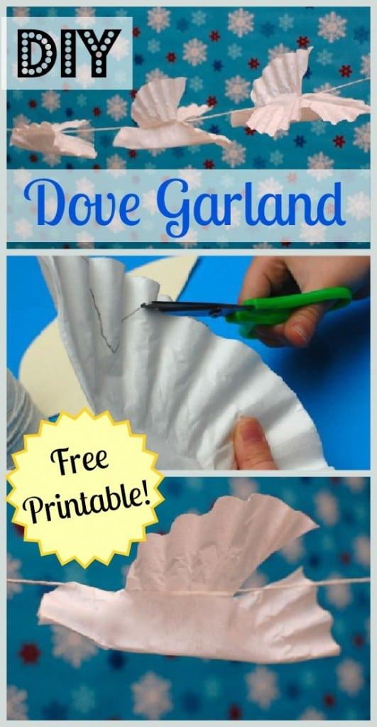 Dove Garland