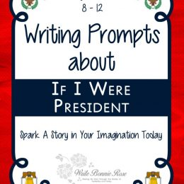 Free If I Were President Writing Prompts