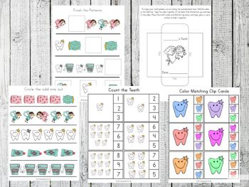 Free Tooth Fairy Printable Pack