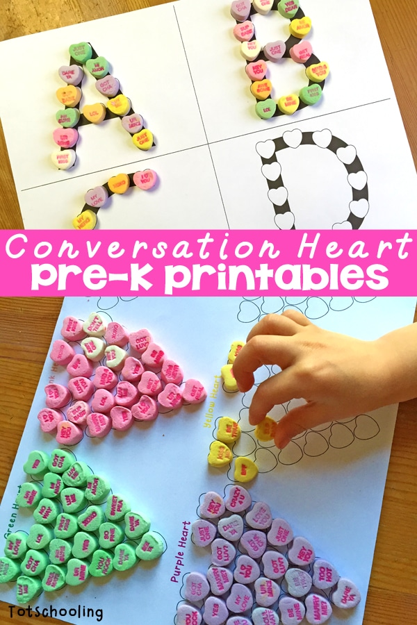 Conversation Heart Printables