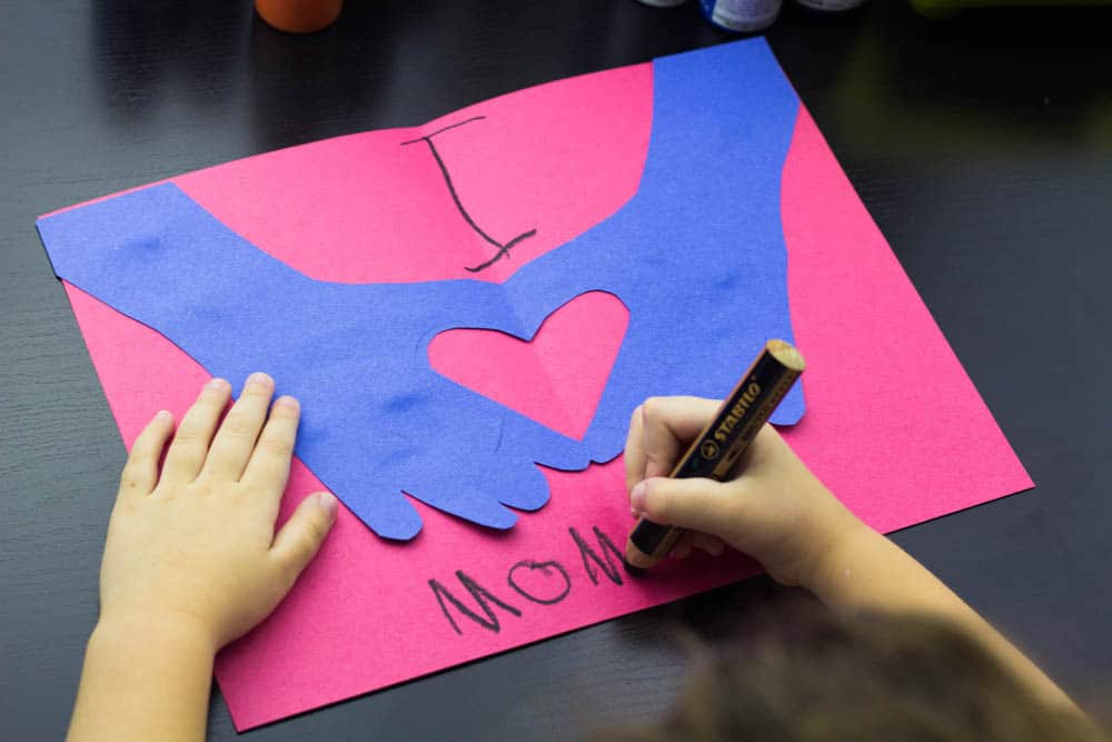 Easy Valentine Card for Kids