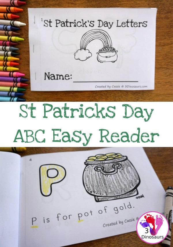 FREE St. Patrick's Day ABC Easy Reader