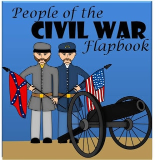 Free People of the Civil War Flapbook
