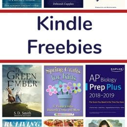 16 Kindle Freebies: The Green Ember, Spring Crafts for Kids, & More!