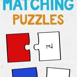 FREE COLOR MATCHING PUZZLES (Instant Download)