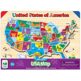 Lift & Learn USA Map Puzzle Only $8.46! (50% Off!)