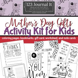 Free Mother's Day Gift Activity Kit for Kids