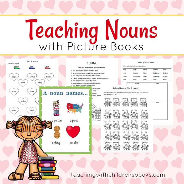 Free Nouns Worksheet Pack