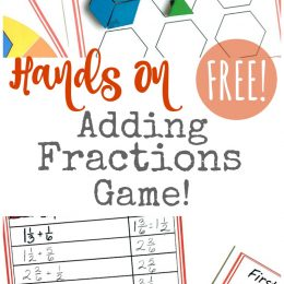 Free Adding Fractions Game