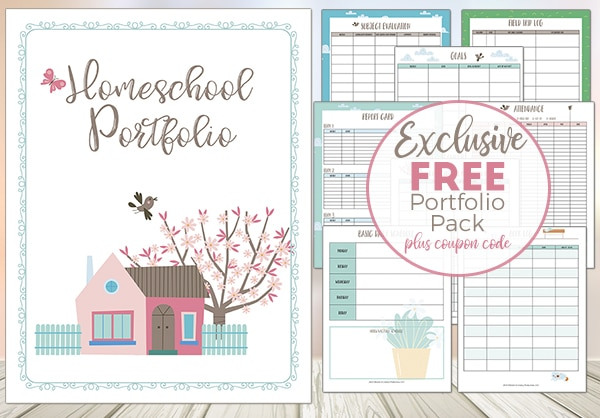 Free Homeschool Portfolio Pack - Limited Time!