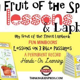 Free Fruit of the Spirit Lesson & Lapbook
