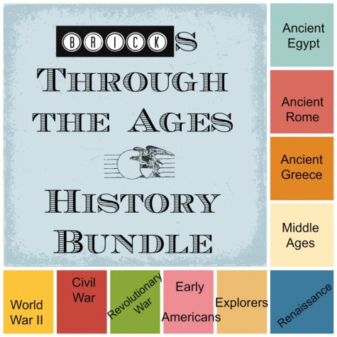 Bricks Through the Ages History Bundle Only $25! (50% Off!) - Perfect for LEGO fans!