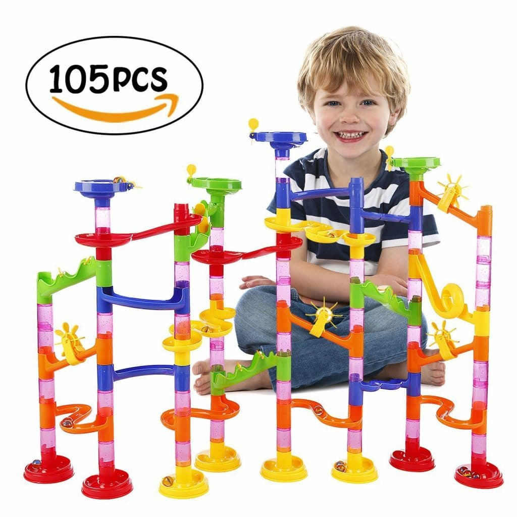 Marble Run 105 Piece Set Only $12.59!