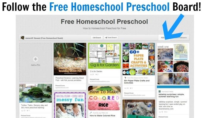 How to Homeschool Preschool