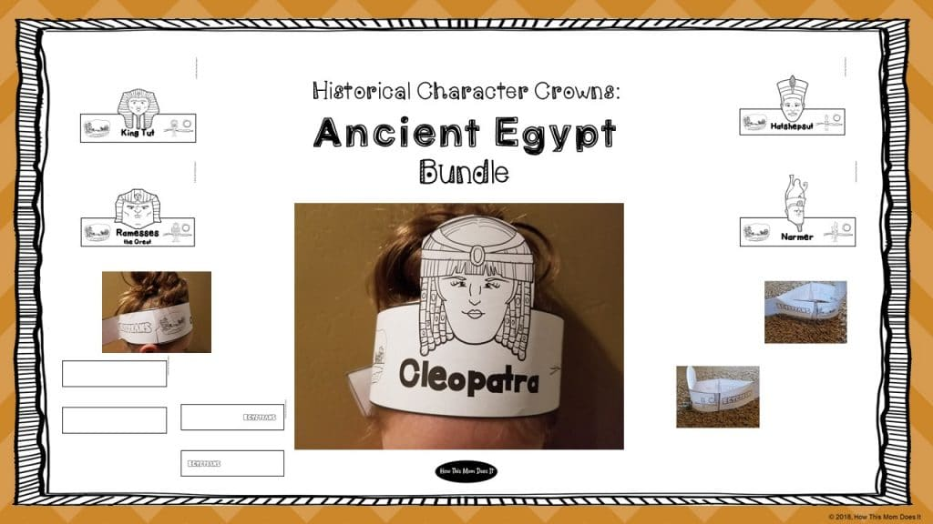 Free Ancient Egyptian Historical Figure Crowns