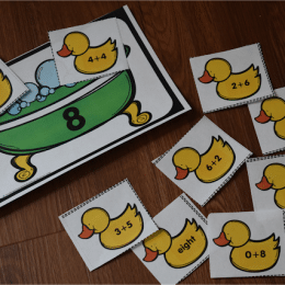 FREE Rubber Duckies Addition Practice Printables