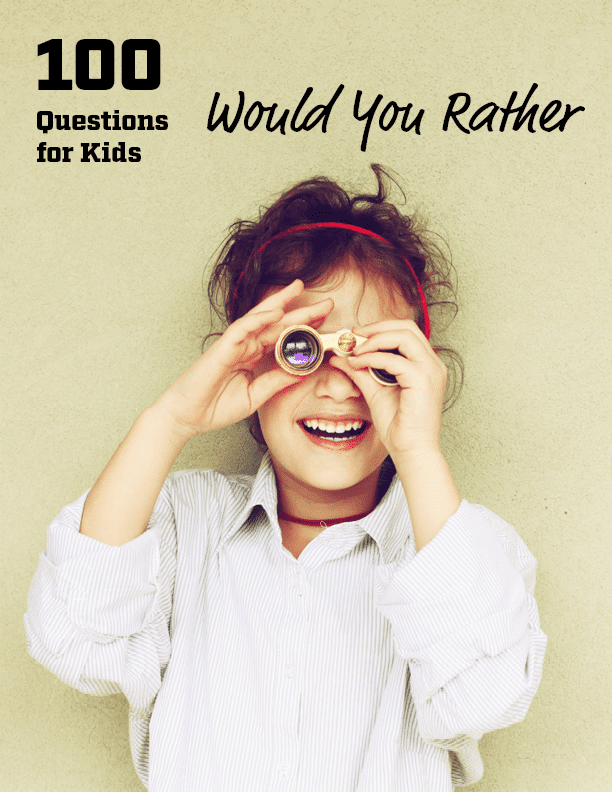 Free Would You Rather Conversation Starter Cards
