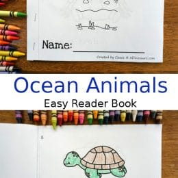 Free Ocean Animals Easy Reader Book