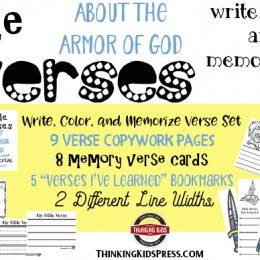 Free Armor of God Bible Memorization Pack