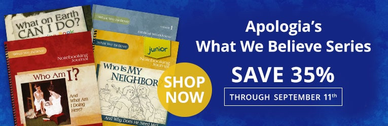 35% Off What We Believe Curriculum by Apologia