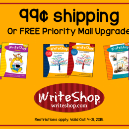 WriteShop Deal – Get $0.99 Shipping with $25+ Orders!