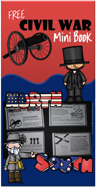 Free Civil War Mini Book
