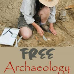 FREE Archaeology Printables and Unit Studies