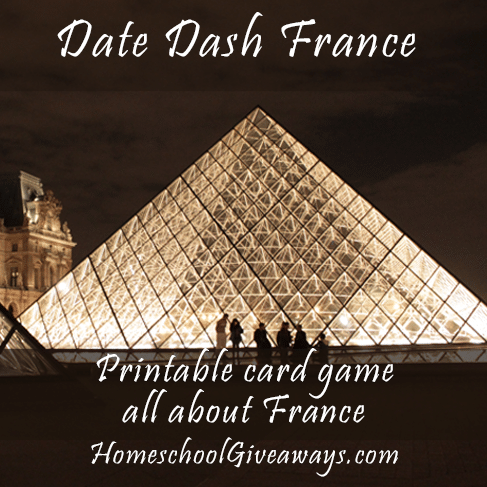 Free Printable France Card Game