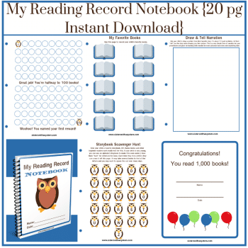 My-Reading-Record-Notebook