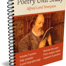 FREE Tennyson Poetry Unit Study